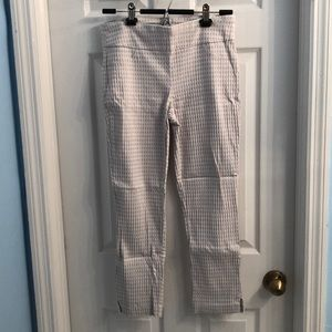 Van Heusen slim fit crop pants